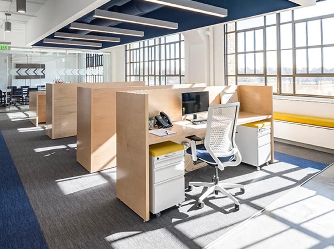 Vách ngăn văn phòng có những ứng dụng gì?